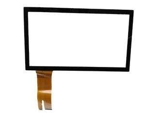 China Sensitive Projected Industrial Touch Panel with Medical rubber gloves industrial control 15.6 inch PCAP supplier