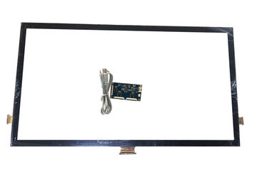 China 55 Inch Fast Response Projected capacitve Touch Screen 10 Points For Multi Media Player supplier