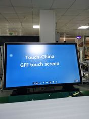 "Black Multi Touch Points DC5V 75"" GFF PCAP Touch Panel"