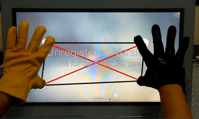 Glove touch 10.1 Inch Projected Capacitive Touch Panel For industrial Control